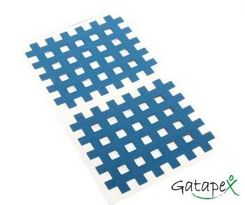 Akupunkturpflaster blau Gittertapes