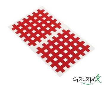 20 rote Gittertapes