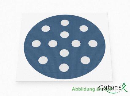 runde Akupunkturpflaster in blau