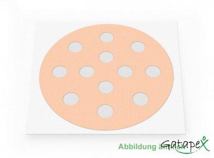 große runde Akupunkturpflaster
