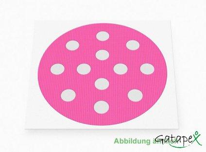 große runde Akupunkturpflaster in pink