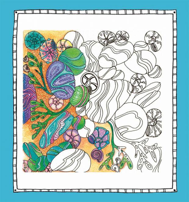 Buch Zencolor Ruhe Kraft 100 Bilder Zum Ausmalen Entspannen